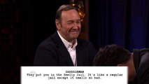 Kevin Spacey Channels Christopher Walken