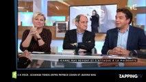 C à Vous : Patrick Cohen attaque Jeanne Mas, échange très tendu sur le plateau (Vidéo)