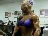 Female muscles FBB lynn Mc crossin Bodybuilding female bodybuilders diet