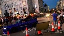 [Gumball 3000 - 2014 London] - Flamethrower Nissan Skyline GTR R33! Regent Street London