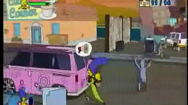 The Simpsons Game - Grand Theft Scratchy - Guide Part 2 of 4