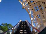 Dragon Coaster Front Row Seat on-ride POV Ryes Playland Park
