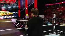 WWE RAW-Stephanie McMahon has a surprise for Dean Ambrose Raw, February 15, 2016