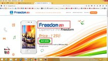 How to Book Freedom 251 Mobile Phone Online Easily only @ 251 (Freedom 251 Booking Proces)