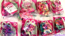 MLP McDonalds Happy Meal Toys My Little Pony DJ Pon3 Vinyl Scratch Play Doh Pinkie Pie 2014