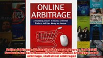Download PDF  Online Arbitrage 22 Amazing Lessons to Source Sell Retail Products And Earn Money on FULL FREE