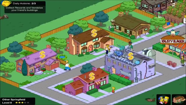 The Simpsons Movie Game - Simpsons Full Episode HD | Simpson Tapped Out