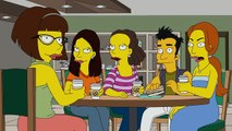 THE SIMPSONS | A Childhood Snowman from Every Mans Dream | ANIMATION on FOX