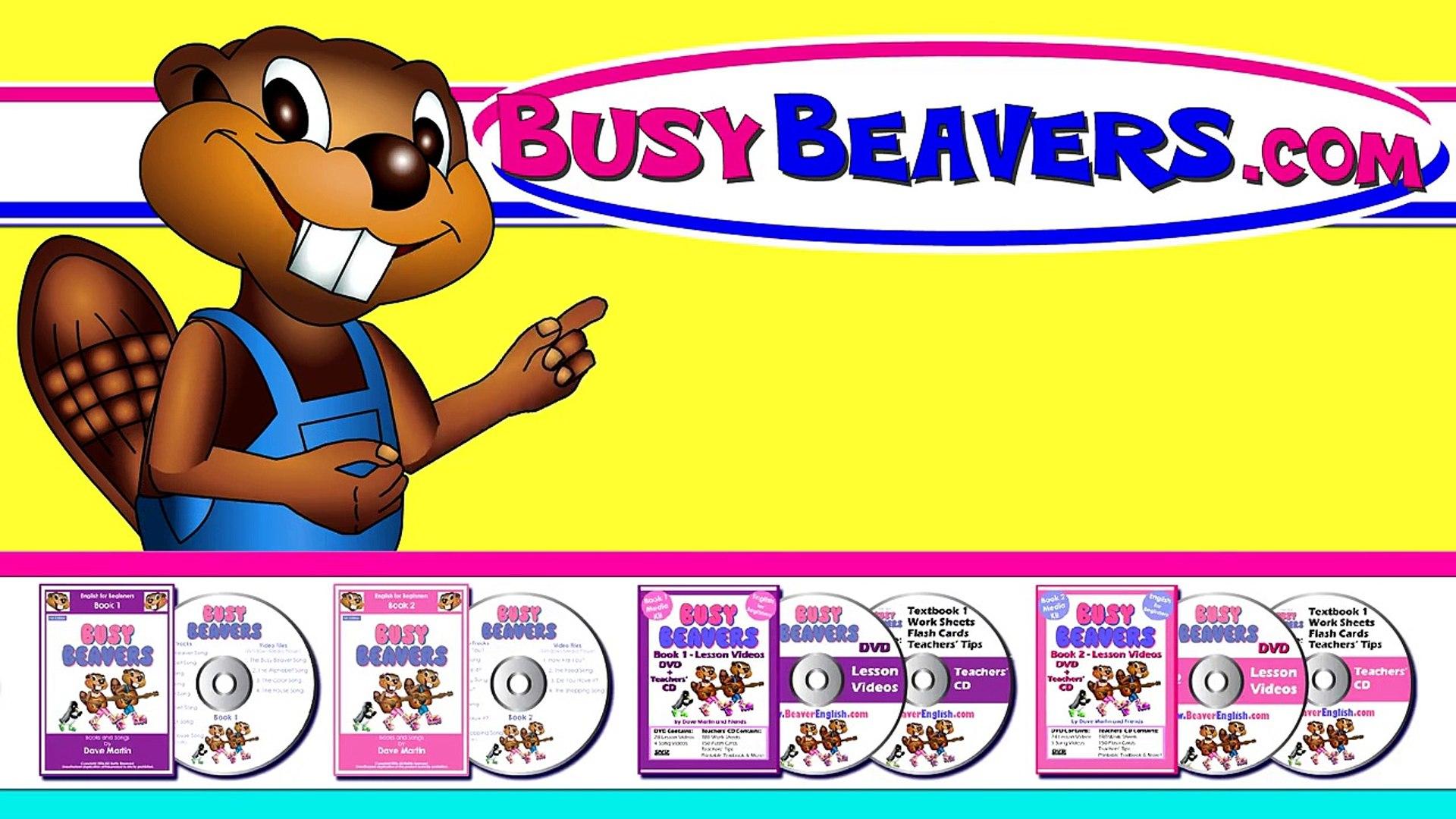 Sing The Alphabet Busy Beavers Abc Song Kids Learning Nursery Song Teach Phonics Vidéo Dailymotion