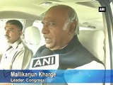 Let us see what government offers: Kharge on Rail Budget