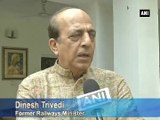 'Railways in crisis going from bad to worse': Dinesh Trivedi