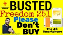 Don't BUY Freedom 251 _ Could be a SCAM _ Freedom 251 BUSTED