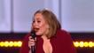 Adele jure et pleure aux Brit Awards 2016