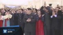 Les images délirantes de Kim Jong-Un qui félicite des scientifiques