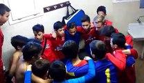 Belles victoires des 2 équipes des U13 du FAC contre les 2 équipes de Perpignan Canet St Nazaire