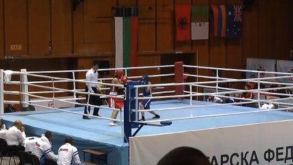 Highlights : Sarah OURAHMOUNE (FRA) vs Elif NUR COSKUN (TUR) - 51kg - STRANDJA CUP (Tour préliminaire 2)