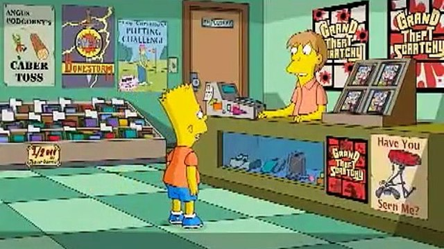 The Simpsons Game - Grand Theft Scratchy - 10-23-07