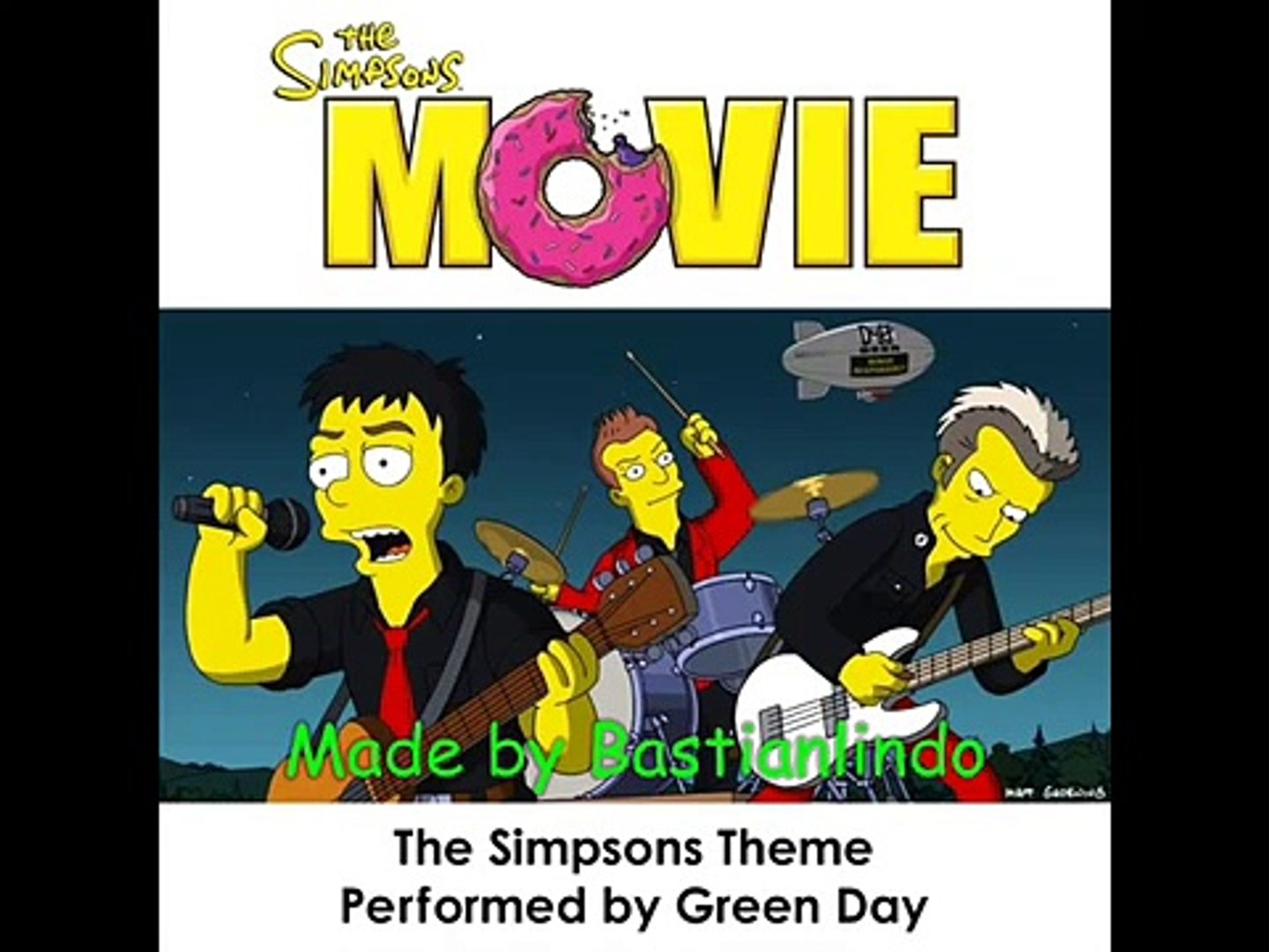 Green Day The Simpsons Theme New Full Song Dailymotion Video