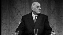 Charles de Gaulle : début de la conférence de presse du 27 novembre 1967