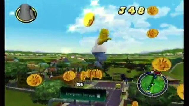 Lets Play The Simpsons: Hit & Run Part 2: Them, Robot