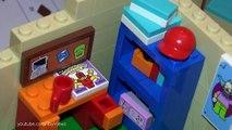 The Simpsons LEGO House [HD] Barts Room 71006 Bart Simpson