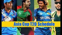 Asia Cup 2016 _ Ind vs Pak Asia Cup 2016 _ Pakistan VS India Schedule of Matches in Asia cup 2016
