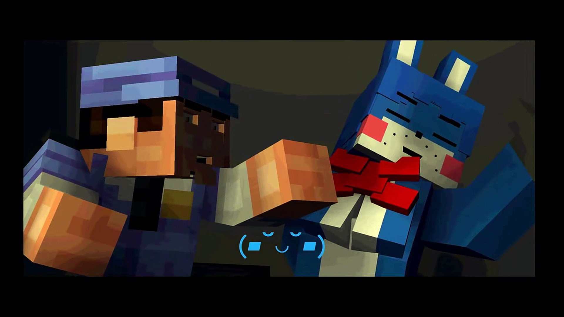 Five Nights At Freddy's Bonnie Animated minecraft animation five nights in anime the love of bonnie!