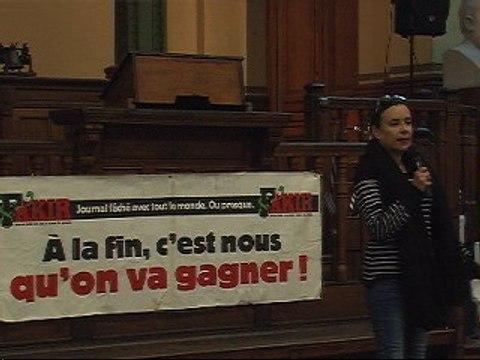 """23_02_2016 1/6 Bourse du Travail soirée """"Comment leur faire peur"""" Fakir"""