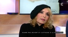 C à vous : L'échange très tendu entre Jeanne Mas et Patrick Cohen ! - ZAPPING TÉLÉ DU 25/02/2016