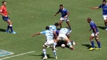 L'Argentine bat les Samoa sur une passe de football américain