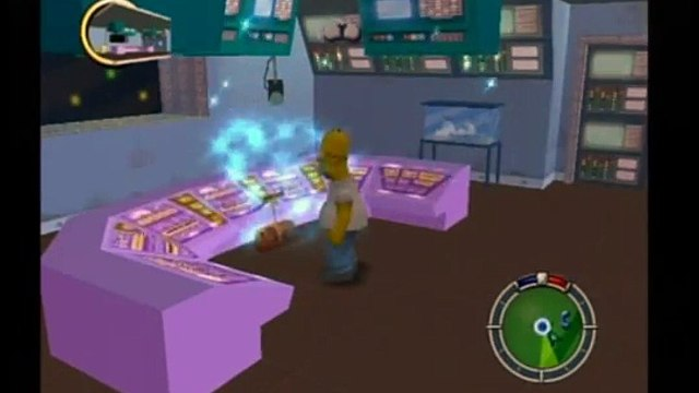 The Simpsons Hit and Run ~ Level 1 - Mission 4: Blind Big Brother