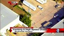 Houston Police Chase (January 08, 2015) ABC13 | KTRK | KPRC