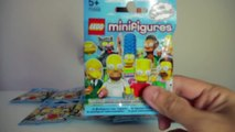 [LEGO SIMPSONS] Minifigures Simpson série 1 - Complete series Minifigures Lego Simpsons series 1