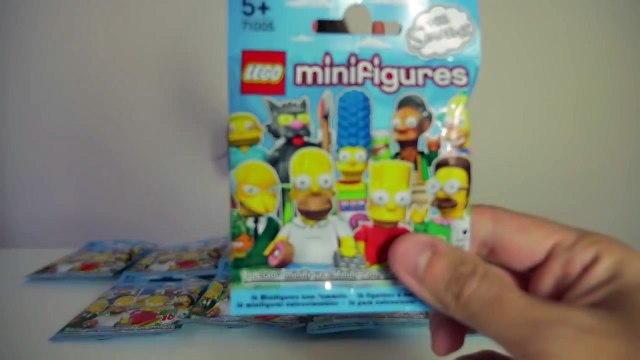 [LEGO SIMPSONS] Minifigures Simpson série 1 - Complete series Minifigures Lego Simpsons series 1