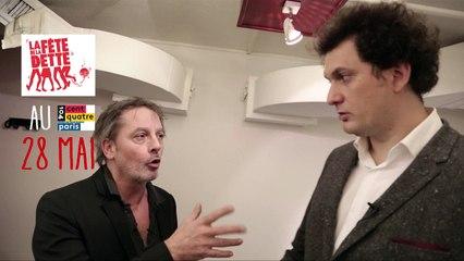 Eric Antoine et Christophe Aleveque, ensemble contre la Dette publique ! (pour La Fête de la dette)