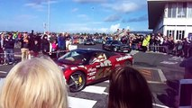 Gumball 3000 Rally Leaving Prestwick Airport 08/06/2014