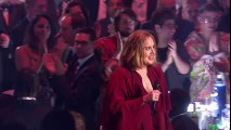 Adele wins BRITs Global Success Award  _ The BRIT Awards 2016