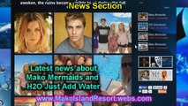Mako Mermaids and H2O Just Add Water Fansite