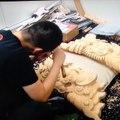 Délicates sculptures  traditionnelles japonaises