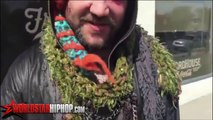 Bam Margera - Gets Knocked attacked for Glacier Mafia iceland 2015