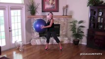 Ab workout, Abs, Belly Fat, Stomach Exercises_Full Length 13-Minute Stability Ball Abs Workout