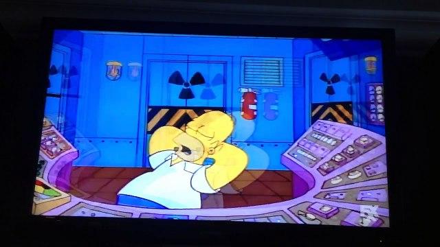 The Simpsons Movie 2: Homer Simpson sings The Flinstones Theme Song