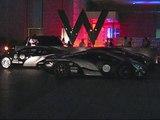 Hypercars: 2 Bugatti Veyrons, 1 SSC Ultimate Aero, 1 Jaguar XJ220 @ Gumball 3000