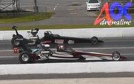 Dragster Napierville Dragway 2015 AdrenalineQC. Drag Racing