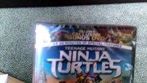 Teenage Mutant Ninja Turtles 2014 movie dvd unboxing