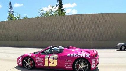 Chasing Lamborghini Aventador Vs Ferrari F12 Vs Ferrari 458