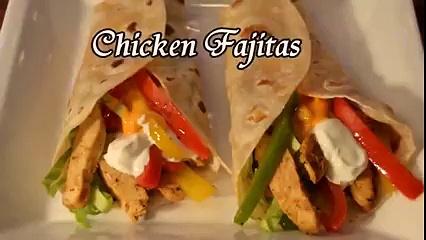 Chicken Fajita – Homemade chicken Fajitas Recipe