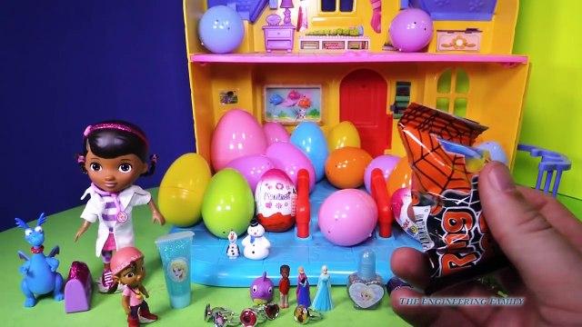 DOC MCSTUFFINS Disney Junior Doc McStuffins Surprise Eggs Disney Doc McStuffins Surprise Video