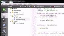 11 C++ GUI with Qt Coding the FindCrap Program - video