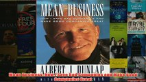 Download PDF  Mean Business How I Save Bad Companies and Make Good Companies Great FULL FREE